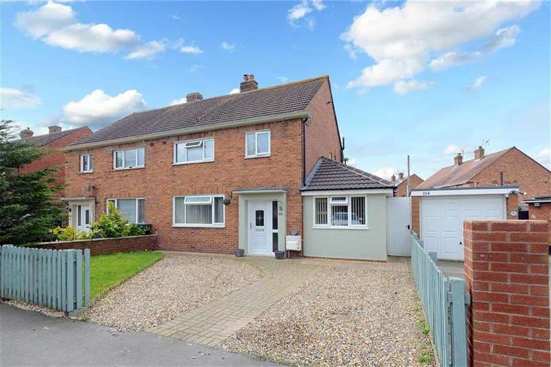 3 Bedrooms Semi Detached House for sale in Meadow Farm Drive, Sundorne, Shrewsbury, Shropshire