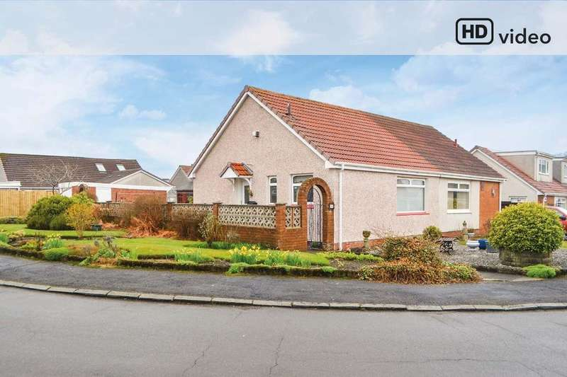 1 Bedroom Bungalow for sale in Credon Drive, Airdrie, North Lanarkshire, ML6 9RT