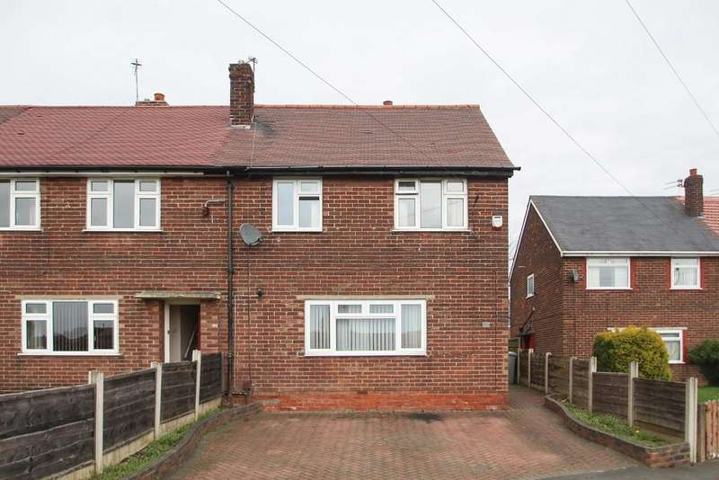3 Bedrooms End Of Terrace House for sale in Valley Road South, Flixton, Manchester, M41