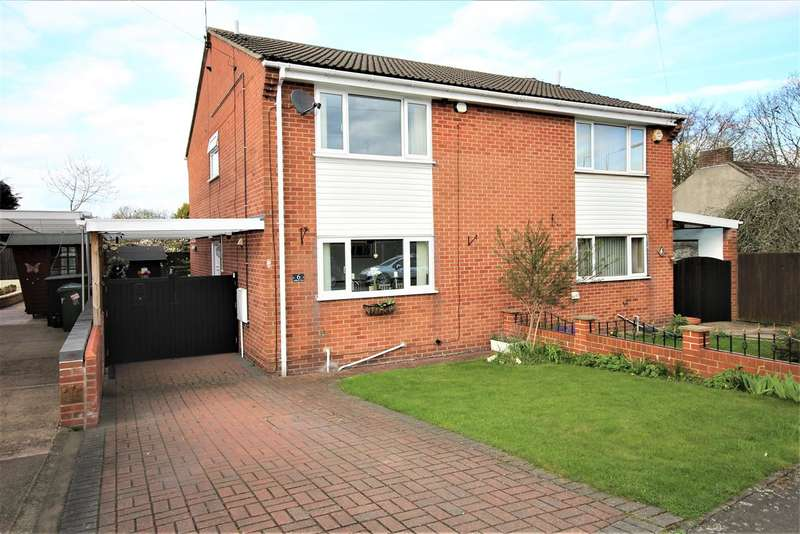 3 Bedrooms Semi Detached House for sale in Holborn View, Codnor