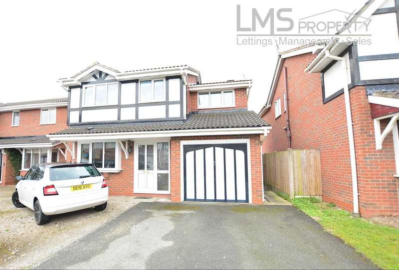 4 Bedrooms Detached House for sale in Inglewood Avenue, Middlewich