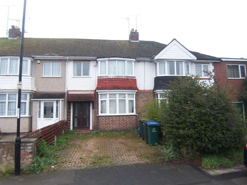 3 Bedrooms Terraced House for sale in Mary Herbert Street, Coventry