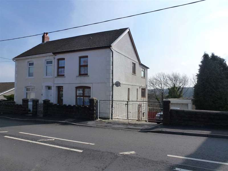 4 Bedrooms Semi Detached House for sale in Bethania Road, TUMBLE, Llanelli