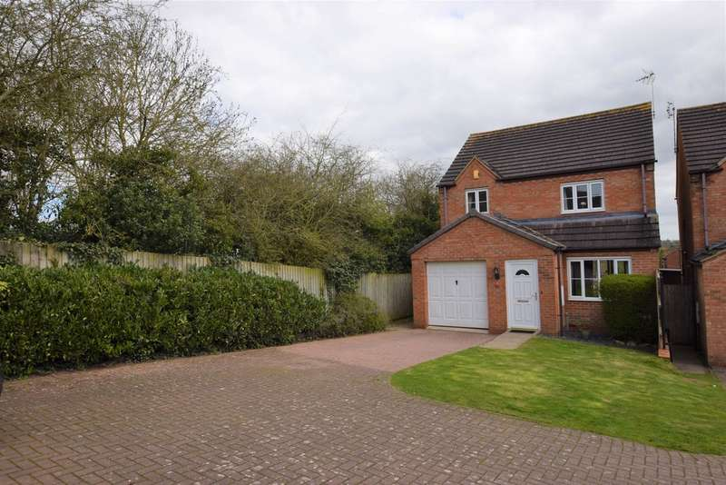 3 Bedrooms Detached House for sale in Forest Rise, Desford LE9