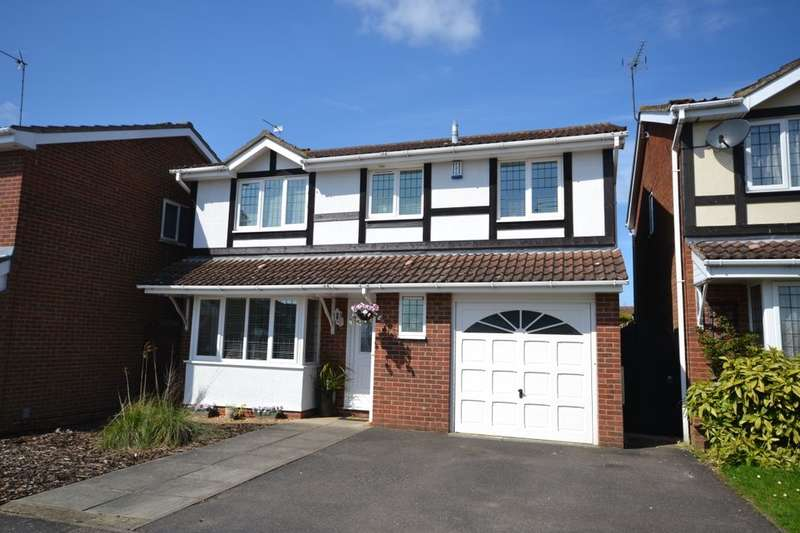 4 Bedrooms Detached House for sale in Javelin Close, Duston, Northampton, NN5