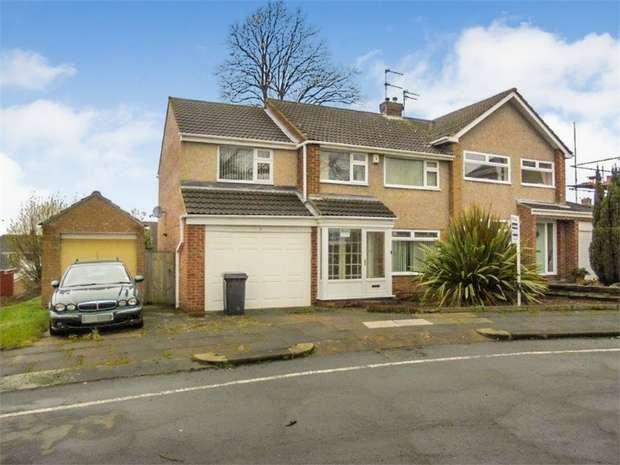 4 Bedrooms Semi Detached House for sale in Barnes Close, Darlington, Durham