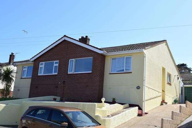 2 Bedrooms Semi Detached Bungalow for sale in Little Park Road, Paignton, Devon