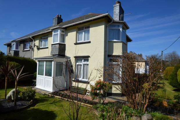 3 Bedrooms Semi Detached House for sale in Park View, Liskeard, Cornwall