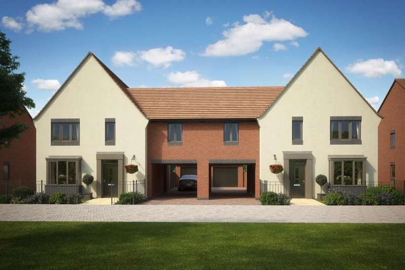 4 Bedrooms Semi Detached House for sale in The Hurst, Eastfields, Lawley Drive, Telford, TF3