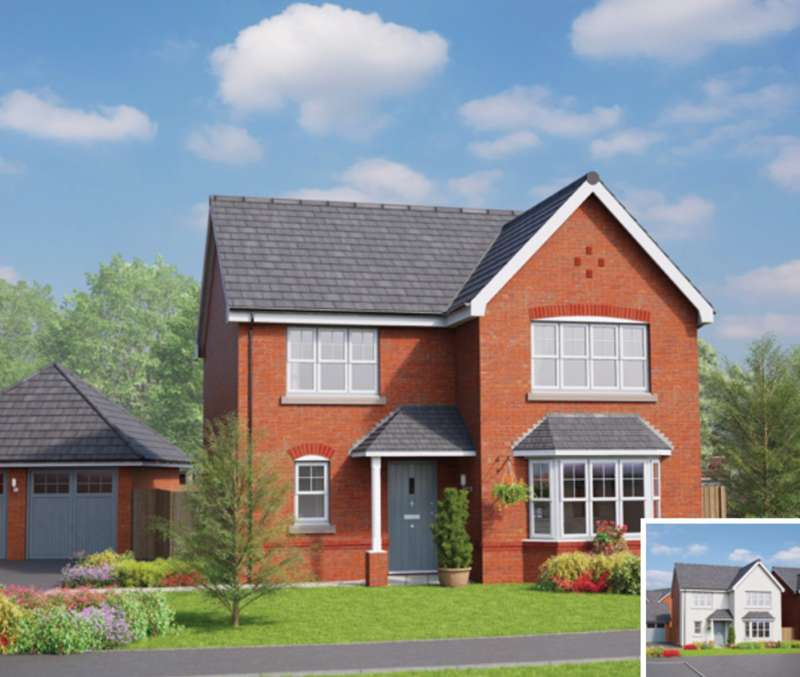 4 Bedrooms House for sale in 4 bedroom House New Build in Wrexham