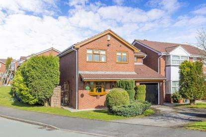 4 Bedrooms Detached House for sale in Aston Road, Newcastle, Staffordshire