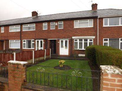 3 Bedrooms Terraced House for sale in Small Avenue, Warrington, Cheshire