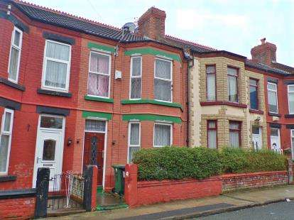 4 Bedrooms Terraced House for sale in Merton Place, Birkenhead, Wirral, CH43