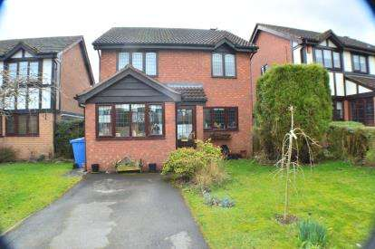 3 Bedrooms Detached House for sale in Hazel Drive, Armitage, Near Lichfield, Staffordshire