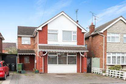 4 Bedrooms Detached House for sale in Northumberland, Nuneaton, Warwickshire