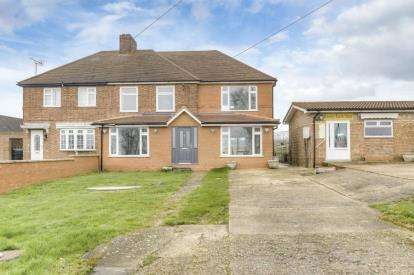 3 Bedrooms Semi Detached House for sale in Swineshead Road, Riseley, Bedford, Bedfordshire