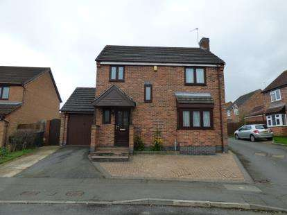 3 Bedrooms Detached House for sale in Foxglove Road, Hamilton, Leicester