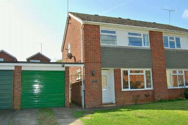 3 Bedrooms Semi Detached House for sale in West Street, Weedon, Daventry NN7 4QN