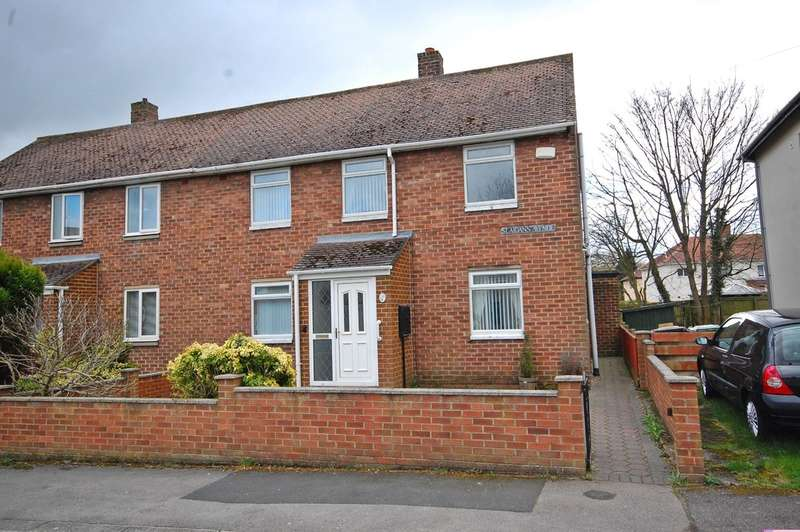 3 Bedrooms Semi Detached House for sale in St Aidans Avenue, Framwellgate Moor, Durham