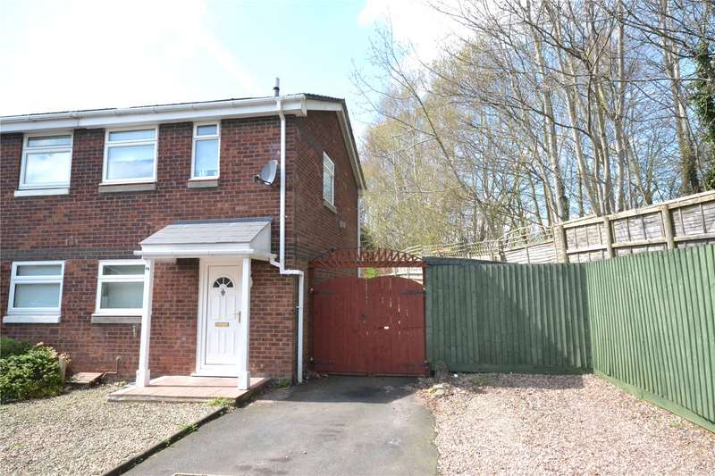 2 Bedrooms Semi Detached House for sale in 19 Boscobel Close, Stirchley, Telford, TF3