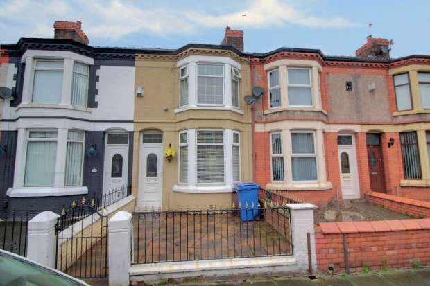 3 Bedrooms Terraced House for sale in Eastbourne Road, Liverpool, Merseyside, L9 0JE