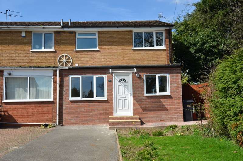 3 Bedrooms End Of Terrace House for sale in Clandon Close, Birmingham, B14