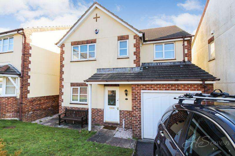 4 Bedrooms Detached House for sale in Lindisfarne Way, Torquay