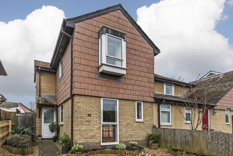 2 Bedrooms Semi Detached House for sale in Alresford Road, Winchester, SO23