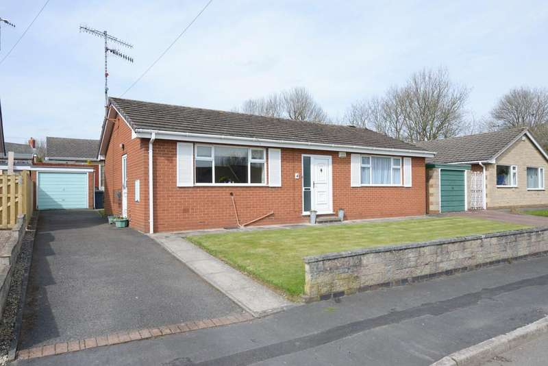 2 Bedrooms Detached Bungalow for sale in Cambrian Close, Newbold, Chesterfield
