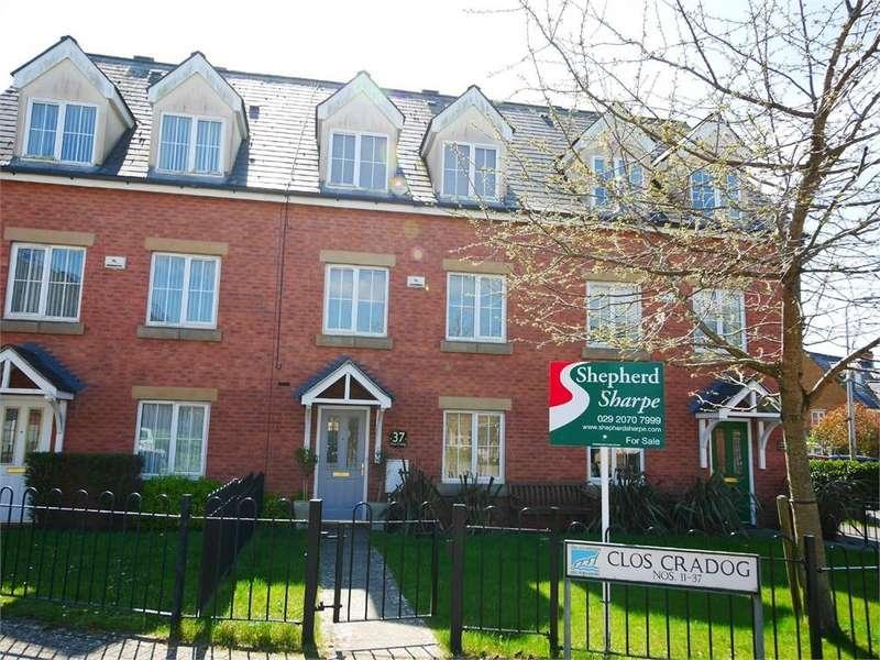 4 Bedrooms Terraced House for sale in Clos Cradog, Penarth