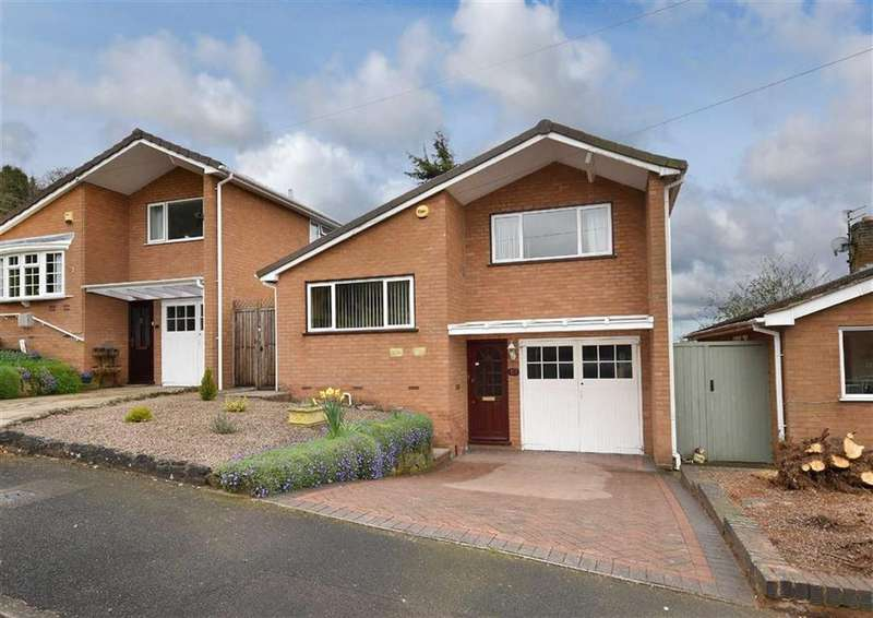 3 Bedrooms Detached House for sale in 10, Firtrees, Low Town, Bridgnorth, Shropshire, WV15