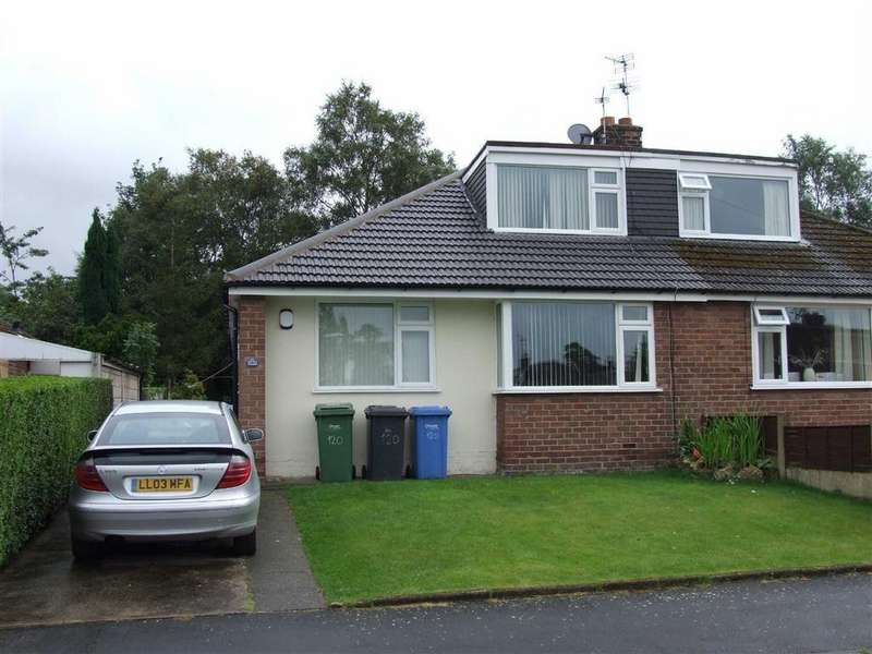 3 Bedrooms Semi Detached Bungalow for rent in Albany Road, Lymm, Cheshire