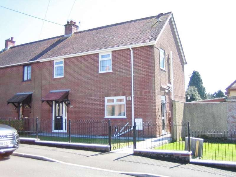 3 Bedrooms Semi Detached House for sale in Bronallt Rd, Fforest