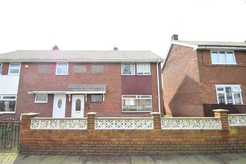 2 Bedrooms Semi Detached House for sale in Norfolk Close, Northlea, Seaham, Co Durham, SR7