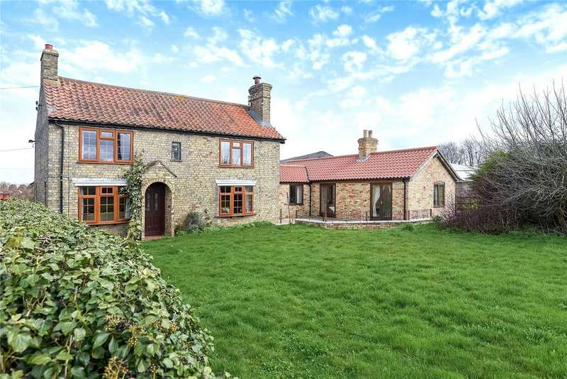 4 Bedrooms Detached House for sale in Lot 1 - Farmhouse With 19.86 Acres, Snarford, LN8