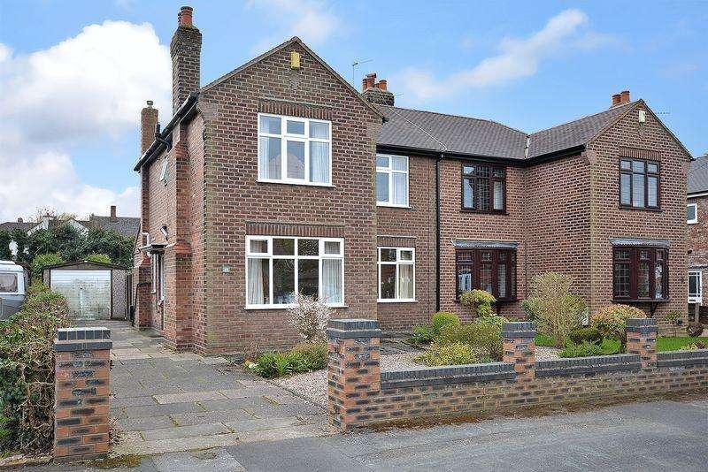 3 Bedrooms Semi Detached House for sale in Denbury Avenue, Stockton Heath, Warrington