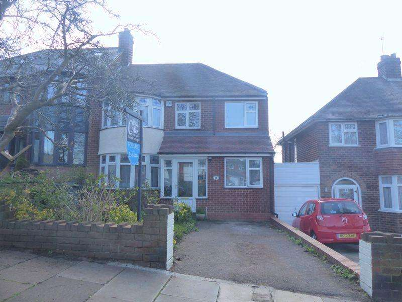 4 Bedrooms Semi Detached House for sale in Charnwood Road, Birmingham