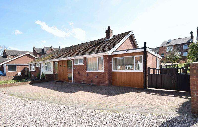 3 Bedrooms Semi Detached Bungalow for sale in Cheslyn Drive, Cheslyn Hay