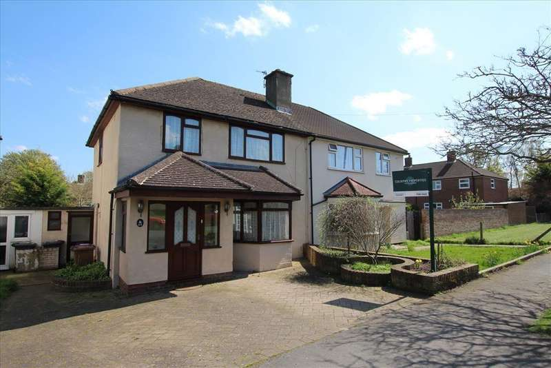3 Bedrooms Semi Detached House for sale in The Leas, BALDOCK, SG7