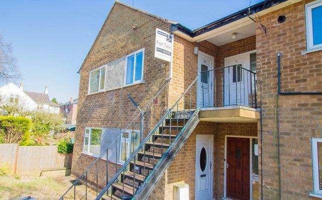 2 Bedrooms Maisonette Flat for sale in Hilton Road, Mapperley, Nottingham, NG3 6AN
