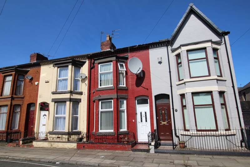 3 Bedrooms Terraced House for sale in Ridley Road, Liverpool, L6