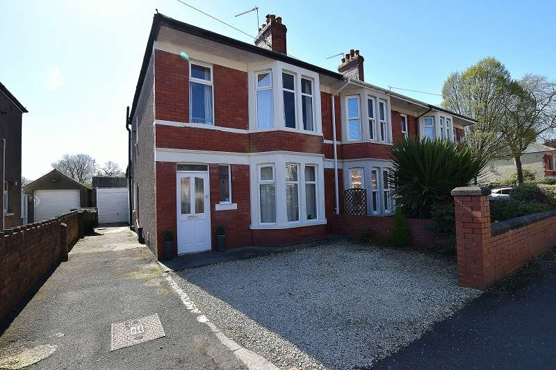 3 Bedrooms Semi Detached House for sale in 5 Kyle Avenue, Rhiwbina, Cardiff. CF14 1SR