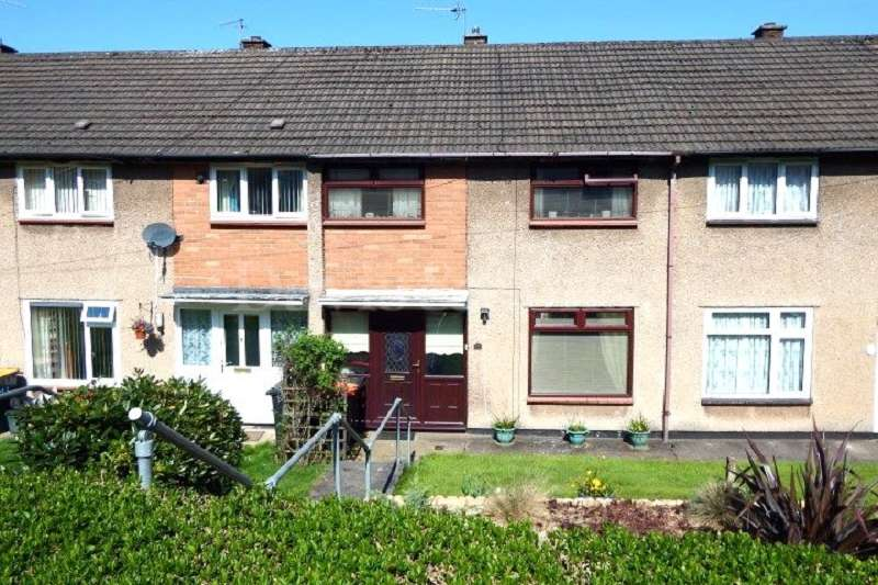 3 Bedrooms Terraced House for sale in Lea Close, Bettws, Newport. NP20 7TU