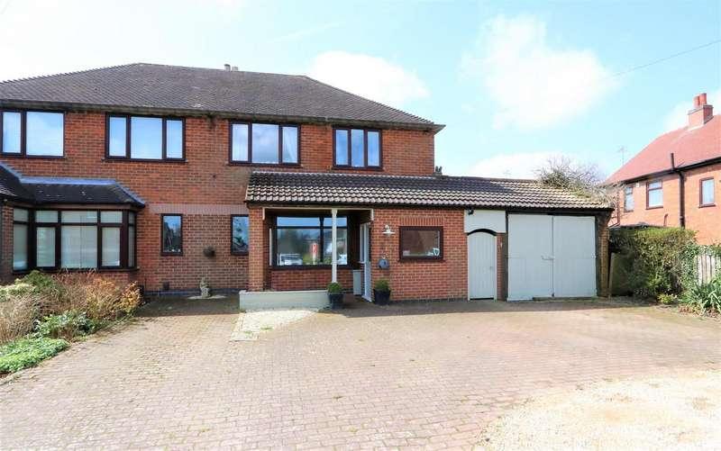 3 Bedrooms Detached House for sale in Burton Road, Ashby-De-La-Zouch, LE65 2LG