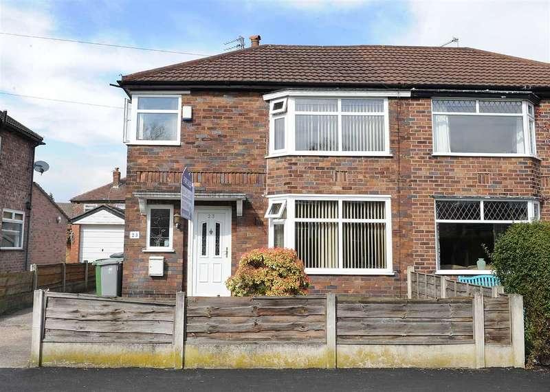 3 Bedrooms Semi Detached House for sale in 23 Clevedon Avenue, Urmston M41 9PR
