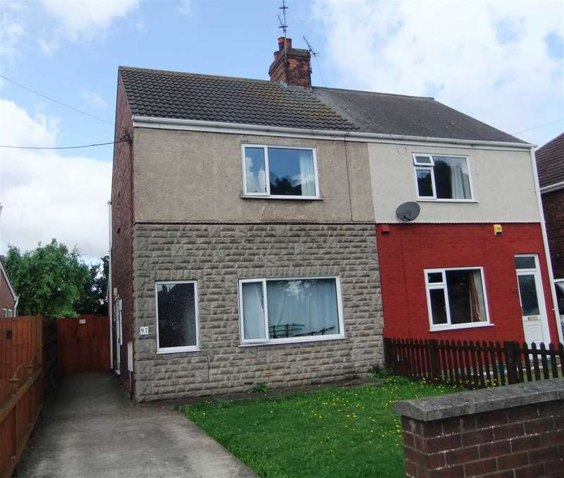 3 Bedrooms Semi Detached House for sale in Grange Lane South, Scunthorpe