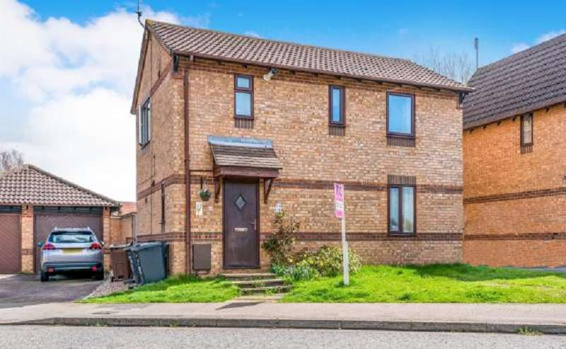 3 Bedrooms Detached House for sale in Weggs Farm Road, Northampton, Northamptonshire. NN5 6HZ