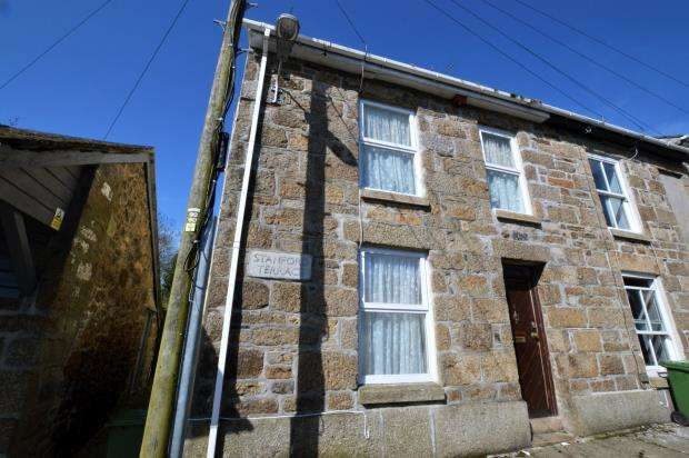 2 Bedrooms End Of Terrace House for sale in Stanford Terrace, Penzance, Cornwall