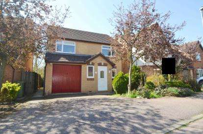 4 Bedrooms Detached House for sale in Hatfield Close, Wellingborough, Northamptonshire