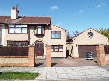 5 Bedrooms Semi Detached House for sale in Croft Avenue, Bromborough, Wirral, CH62